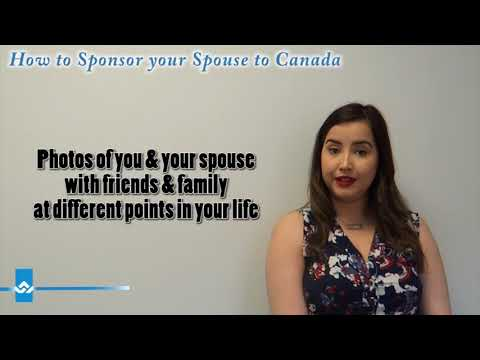 How to Sponsor your Spouse to Canada