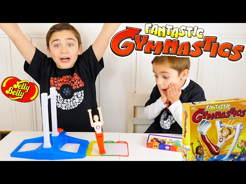 FANTASTIC GYMNASTICS CHALLENGE !!! Surprises ou Jelly Belly ?