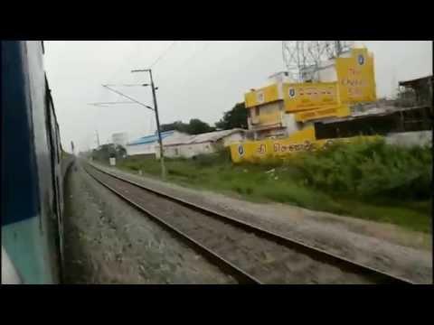 [HD] TPTY-BZA Journey Compilation    On Board, Padmavati Super Fast Express