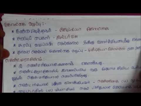 Tnpsc Botany in Tamil - 1