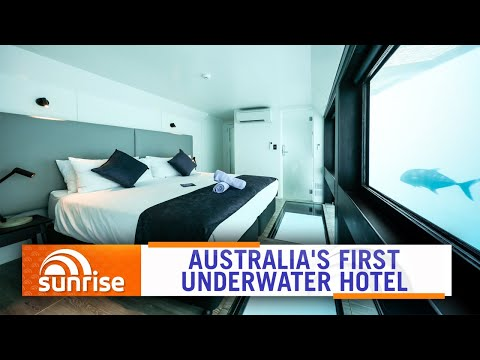 Australia's First Underwater Hotel Opens On The Great Barrier Reef | Sunrise