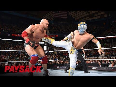 Kalisto vs. Ryback - US Title Match: WWE Payback 2016 Kickoff Match on WWE Network
