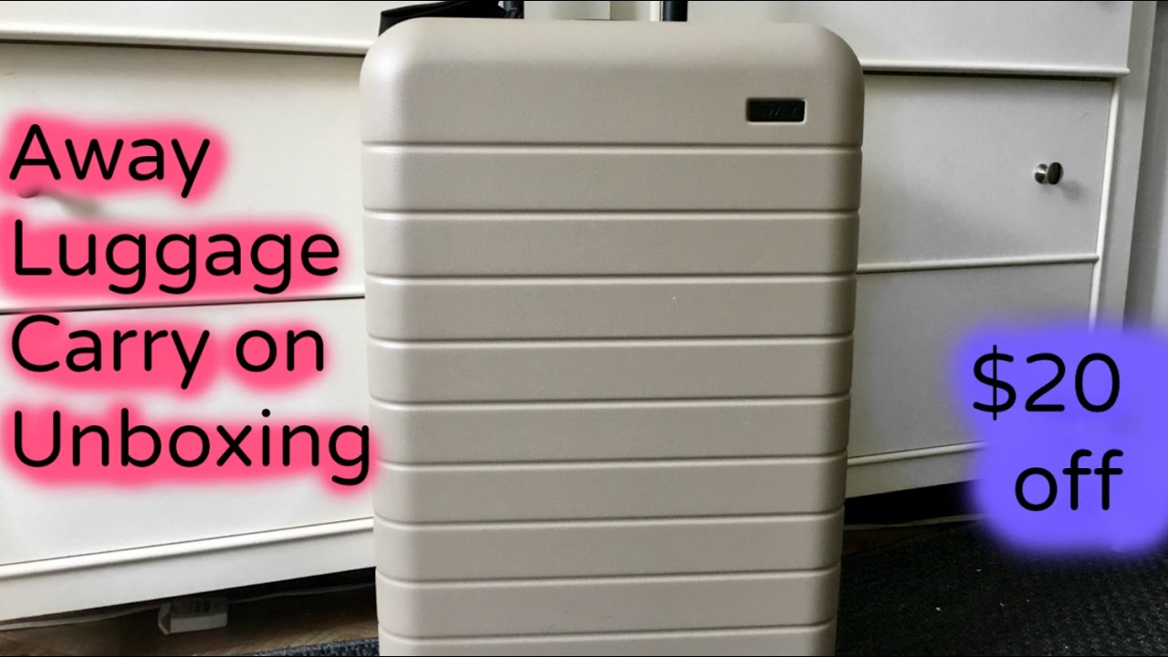 Promo code away suitcase