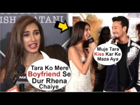 Disha Patani UPSET With Boyfriend Tiger Shroff For FLIRTING With Tara Sutaria