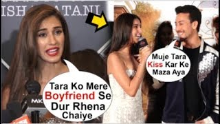 Disha Patani UPSET With Boyfriend Tiger Shroff For FLIRTING With Tara Sutaria