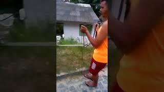 Roçadeira com motor de lava jato