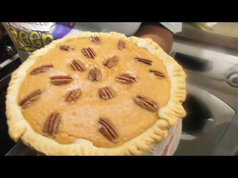 How to make Sweet potato and pecan Pie
