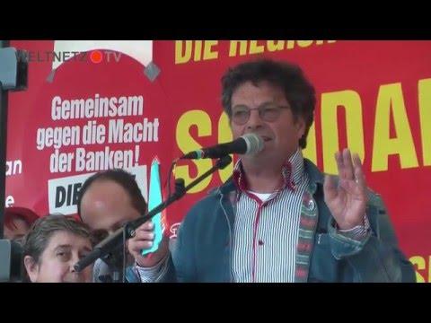 Diether Dehm, MdB DIE LINKE: Zeigt denen in Berlin und an der Börse die Rote Karte!