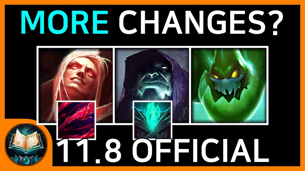 11.8 Patch Note (Final Changes)