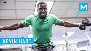 Kevin Hart Bodybuilding Training Workouts  (Motivation) | Muscle Madness