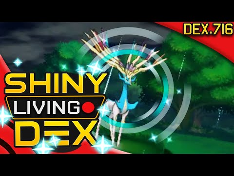SHINY XERNEAS! Quest For Shiny Living Dex #716 | Pokemon ORAS