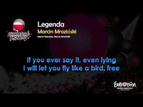 "Marcin Mroziński - ""Legenda"" (Poland) - [Karaoke version]"