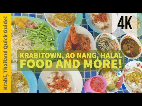 The Krabi Quick Guide | Halal Food & Ao Nang Preview | Travel Thailand | 4K