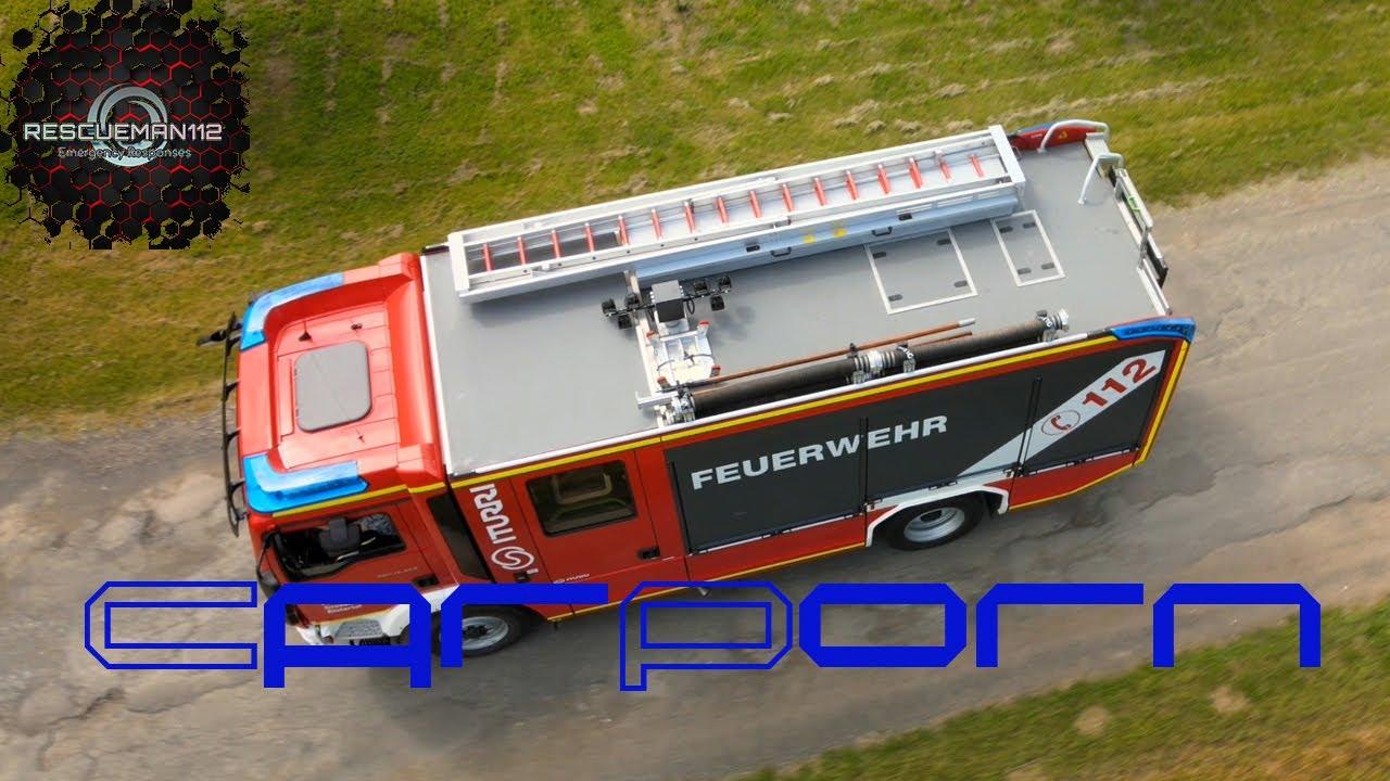 🚨 [CarPorn 4K] Iturri Fire Truck I HLF 10 Feuerwehr Crossen an der Elster