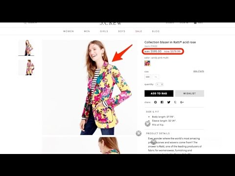 J. Crew's website explains everything that's wrong with the brand