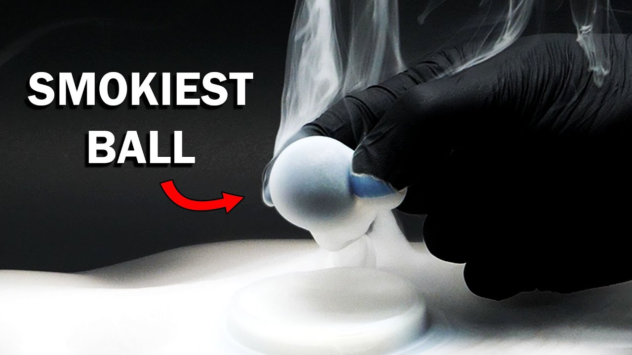 This is the world's smokiest ball