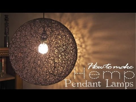 How to make Pendant Lamp - YouTube