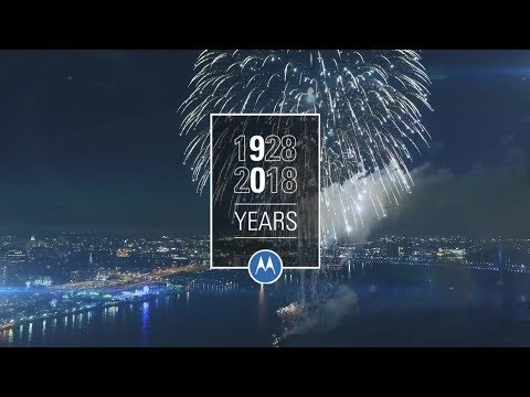 90 Years of Innovation at Motorola Solutions