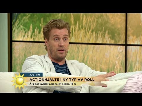 """Skådespelaren om tuffa tiden: """"Det blev vändningen""""  Nyhetsmorgon TV4"""