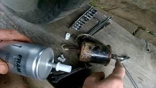 Замена фильтра тонкой очистки Шевроле Лачетти