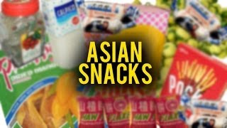 ASIAN SNACKS FROM YOUR CHILDHOOD