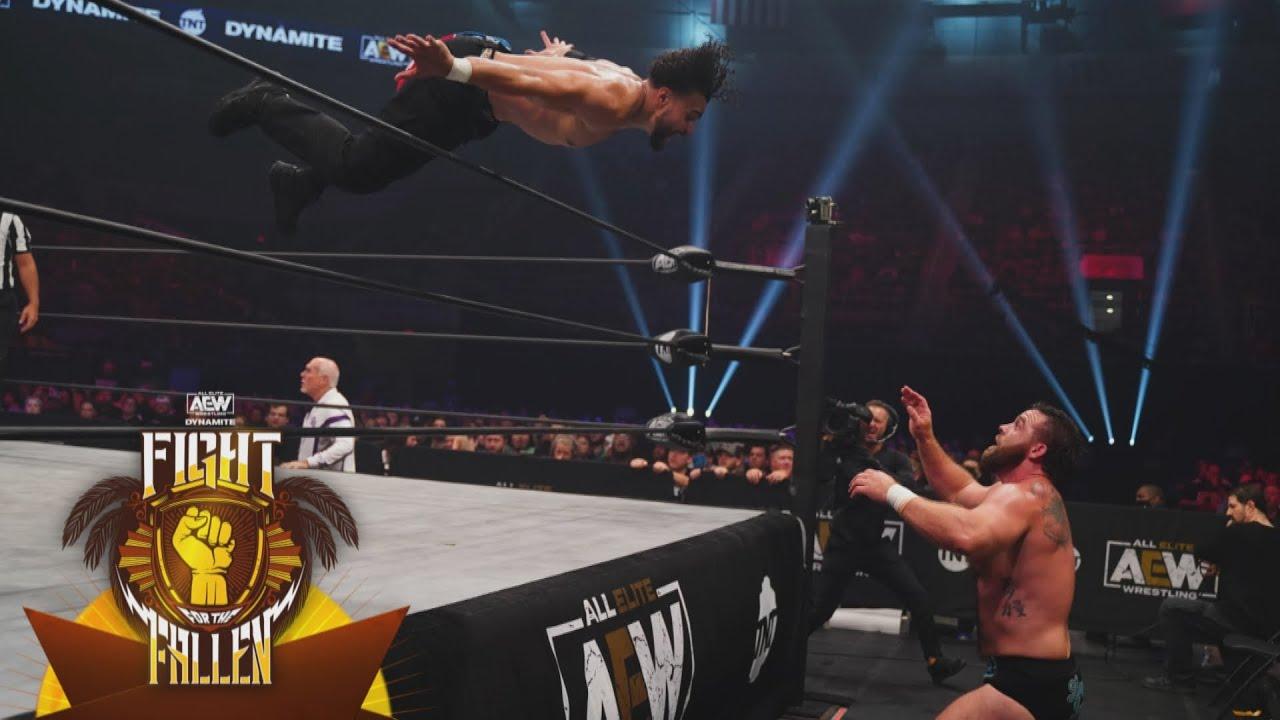 Who Won the War Between Santana & Ortiz v FTR?   AEW Dynamite FFTF, 7/28/21