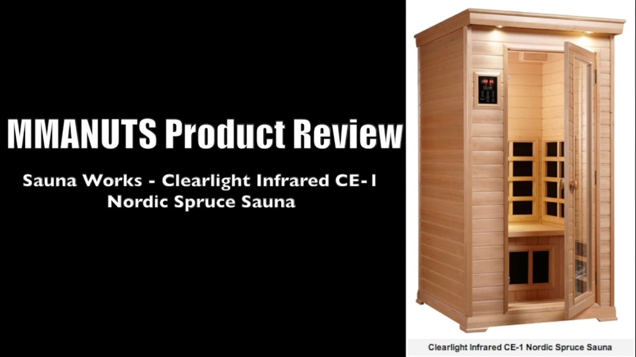 sauna works clearlight infrared sauna review ce 1 nordic
