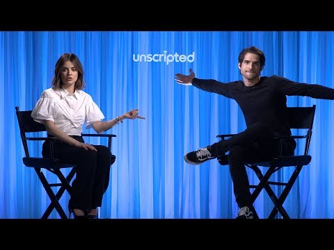 'Truth or Dare' | Unscripted | Lucy Hale, Tyler Posey