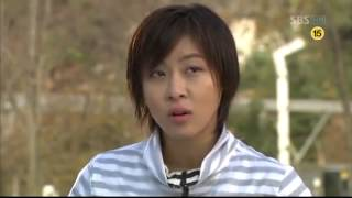 Learning Korean: Be quiet, please. 어금니 꽉 물어라. Ha Ji Won Secret Garden
