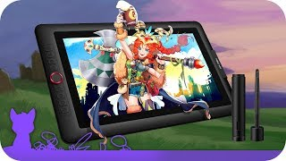 XP-Pen Artist 15.6 Pro Tablet Review + How to Install, Settings