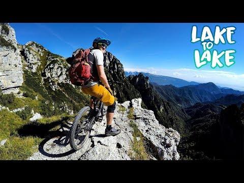 1 Day, 100 Adventures   Mountain Biking Lake to Lake Part 2