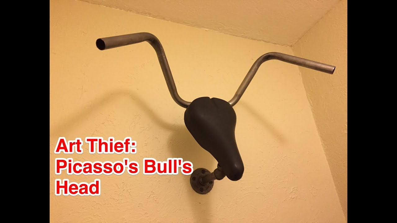 Recycle an Old Bike Into Wall Art: Reinterpreting Picasso\'s Bulls ...