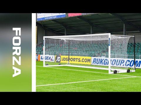 Introducing: 24 X 8 FORZA Alu110 Stadium Box Goal | Net World Sports
