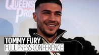 Full press conference | Tommy Fury announces his next fight will be on December 21st