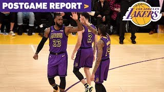 Postgame Report: LeBron's Historic Night Leads Lakers to Win Over Portland