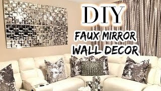 Dollar Tree Diy Faux Mirror | The Best Diy Home Decor