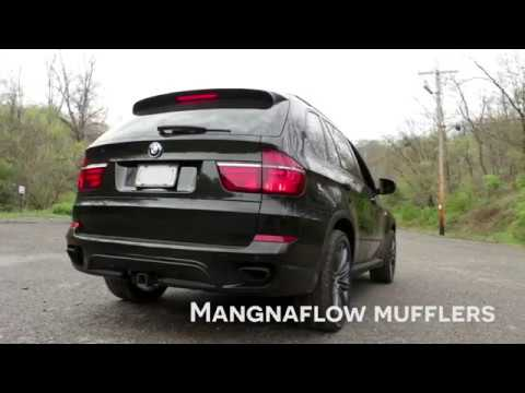 Bmw E70 X5 50i With Magnaflow Exhaust
