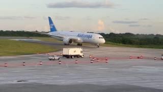 Primer vuelo Boeing 787-800 Air Europa Santo Domingo