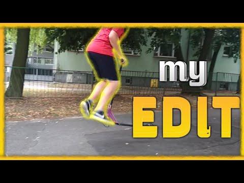 MY FIRST EDIT *SCOOTER KID* | MÓJ EDIT #1