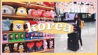 Gambar cover Seoul Vlog Day 1: Busan to Seoul + Seoul Airbnb + Ehwa University   thatxxRin
