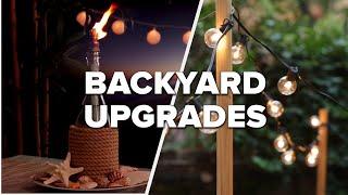 DIY Crafts To Upgrade Your Backyard