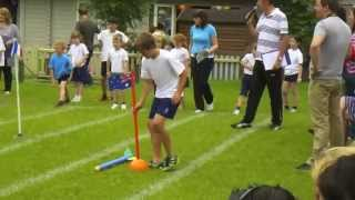 Sports day has arrived. Watch the javelin throw! Thumbnail