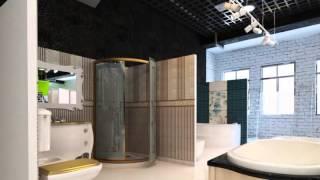 Дизайн  студия Sweet home interiors  дизайн магазина элитная сантехника Sandra style(, 2015-07-26T22:31:56.000Z)