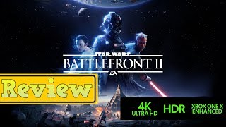 Star Wars Battlefront 2 Review (Xbox One X) Best On Xbox One X Without Microtransactions