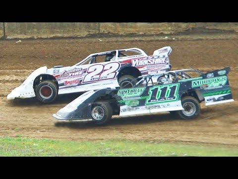 Super Late Model Heat Two | Eriez Speedway | 7-28-19