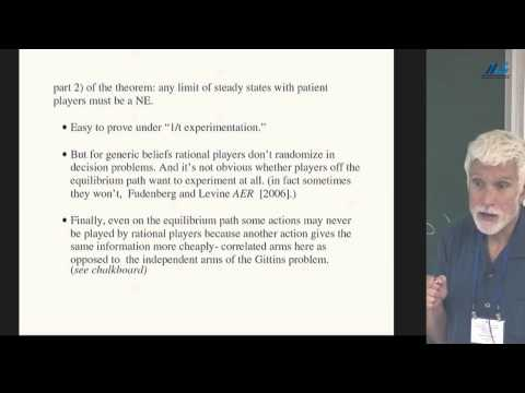 Drew Fudenberg - Learning in Bayesian Games with Rational or Irrational Agents