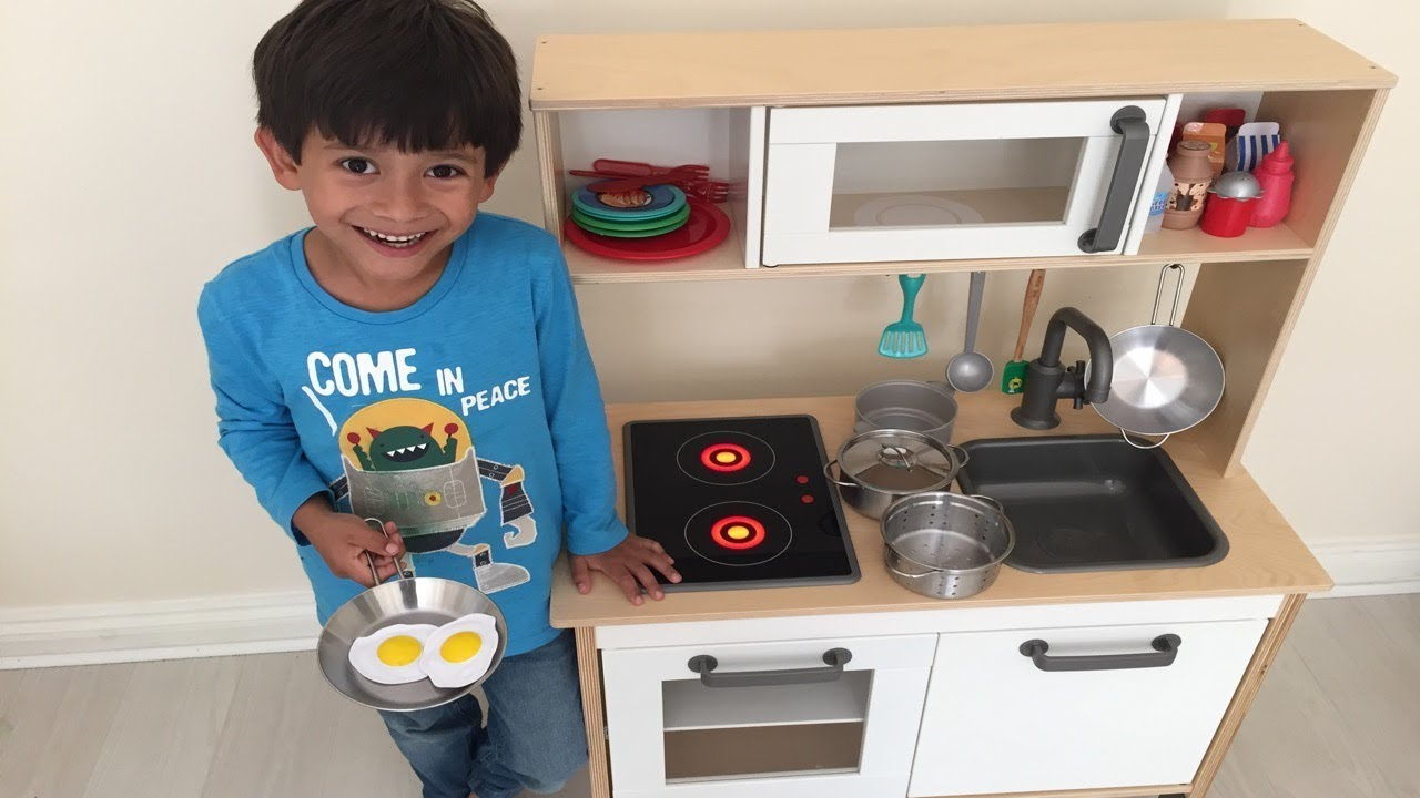 play kitchen ikea island my with how to assemble guide youtube