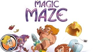 Magic Maze — game overview at FIJ 2017 (Cannes)