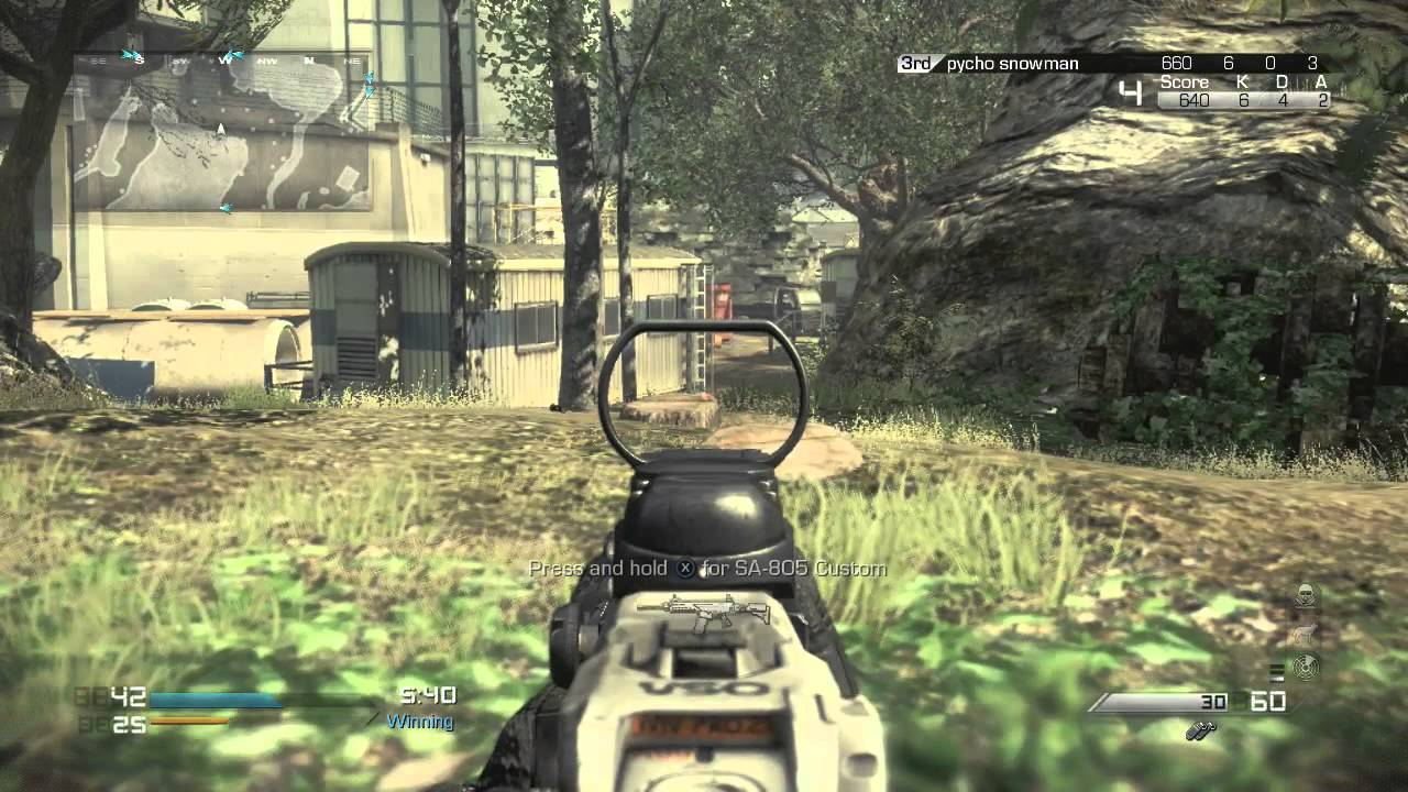 Call of Duty: Ghosts multiplayer - Prison Break TDM on ...