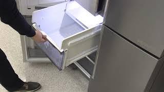 [삼성전자 냉장고] 셰프컬렉션 냉동실 서랍 분리 방법.